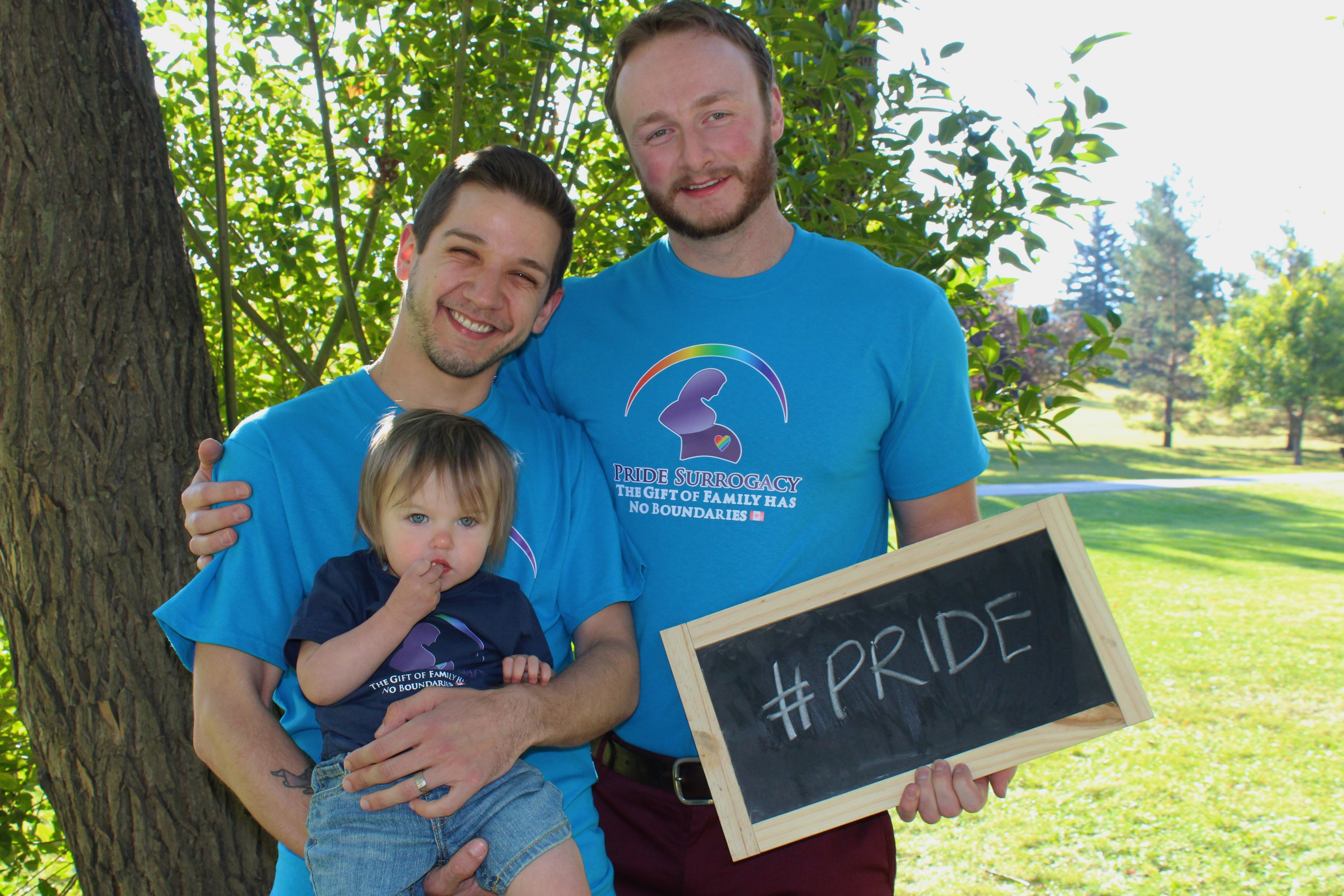Pride Surrogacy - Gay Surrogacy in Canada - gay dads with kids