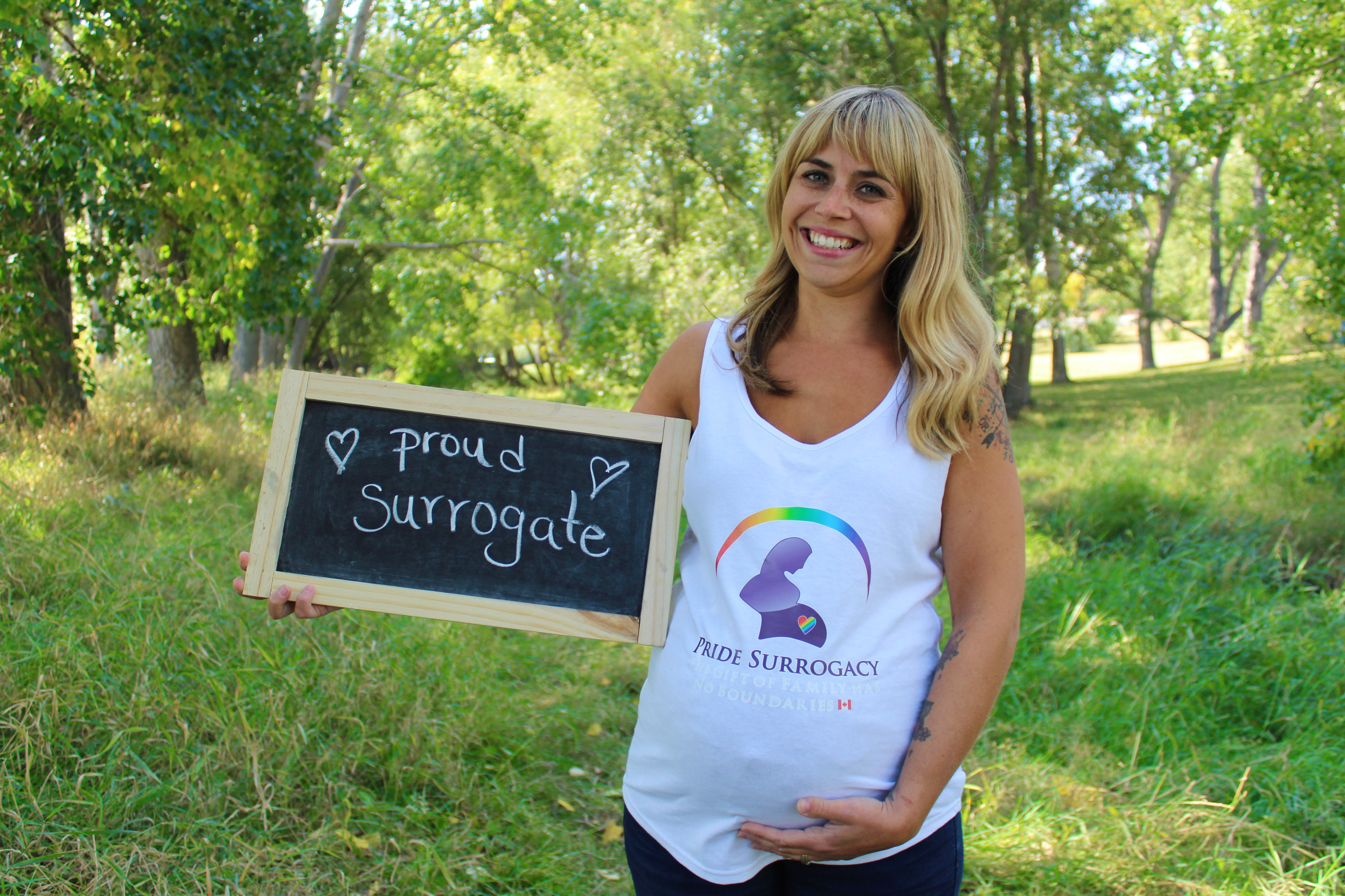 Pride Surrogacy - Gay Surrogacy in Canada - proud surrogate mother