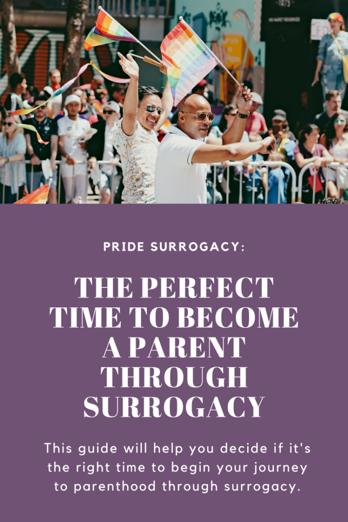 The right time to become a parent through surrogacy